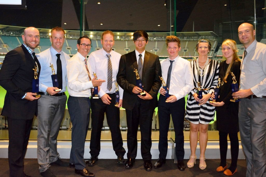 Senior Presentation Night award winners