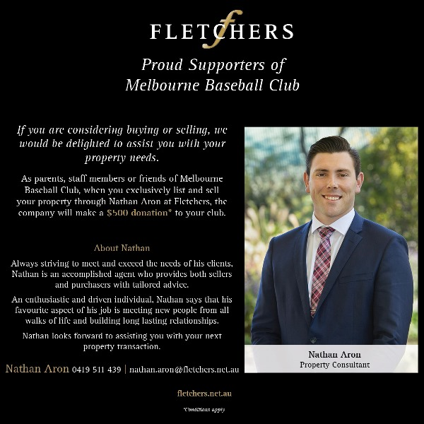 Fletchers Real Estate Sponsorship announcement